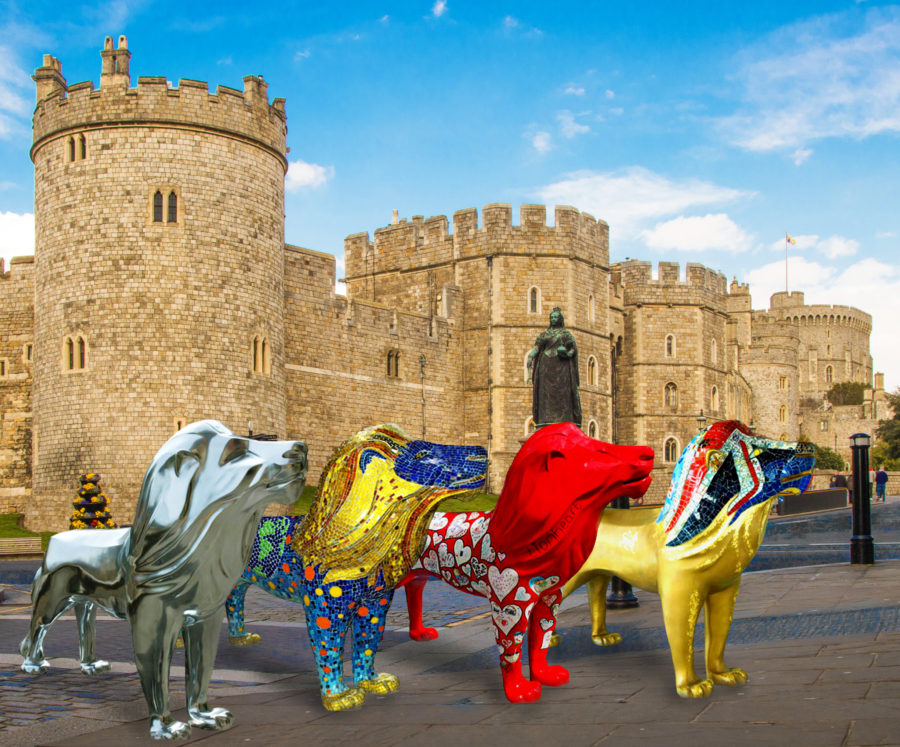Evening Standard – Lions of Windsor 2019: Leading artists and designers create life-size lion sculptures for public art trail