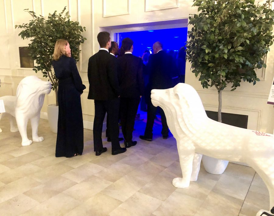Lions invited to Tusk Ball at Kensington Palace
