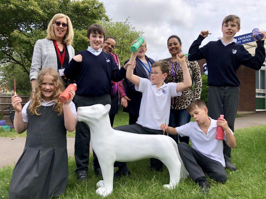 Leo Pharma sponsors lion cub for Maidenhead school