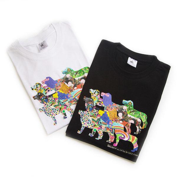 Pride of lions black and white tshirts