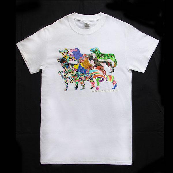 Pride of lions white tshirt