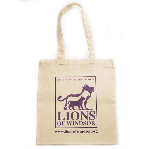 Tote bag lions of windsor