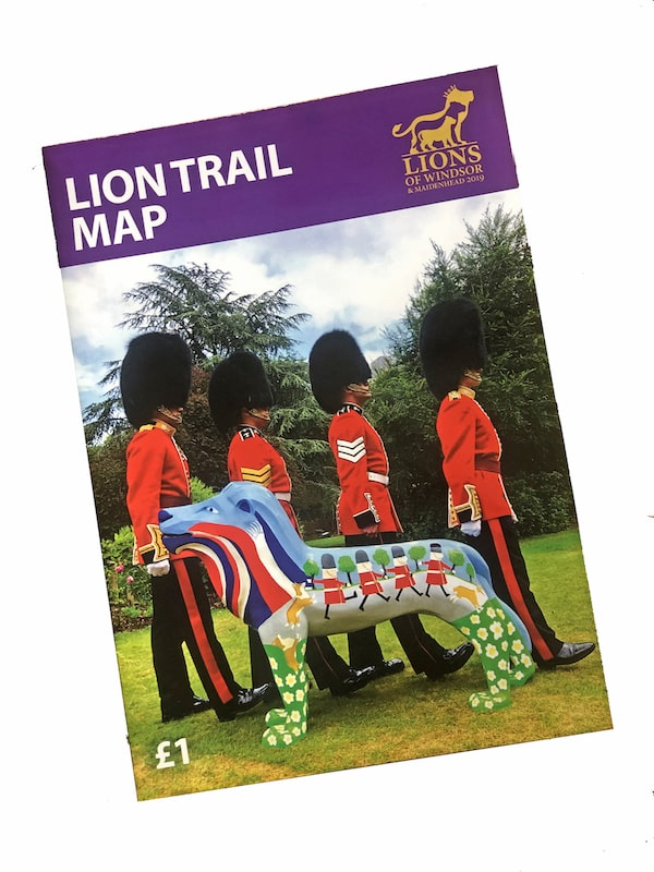 Lions trail map