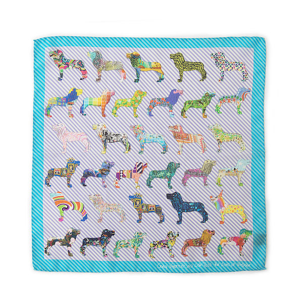 pocket silk scarf