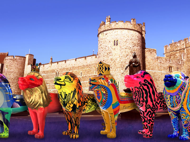 BID FOR YOUR VERY OWN LION AT THE CHARITY AUCTION – 28 November